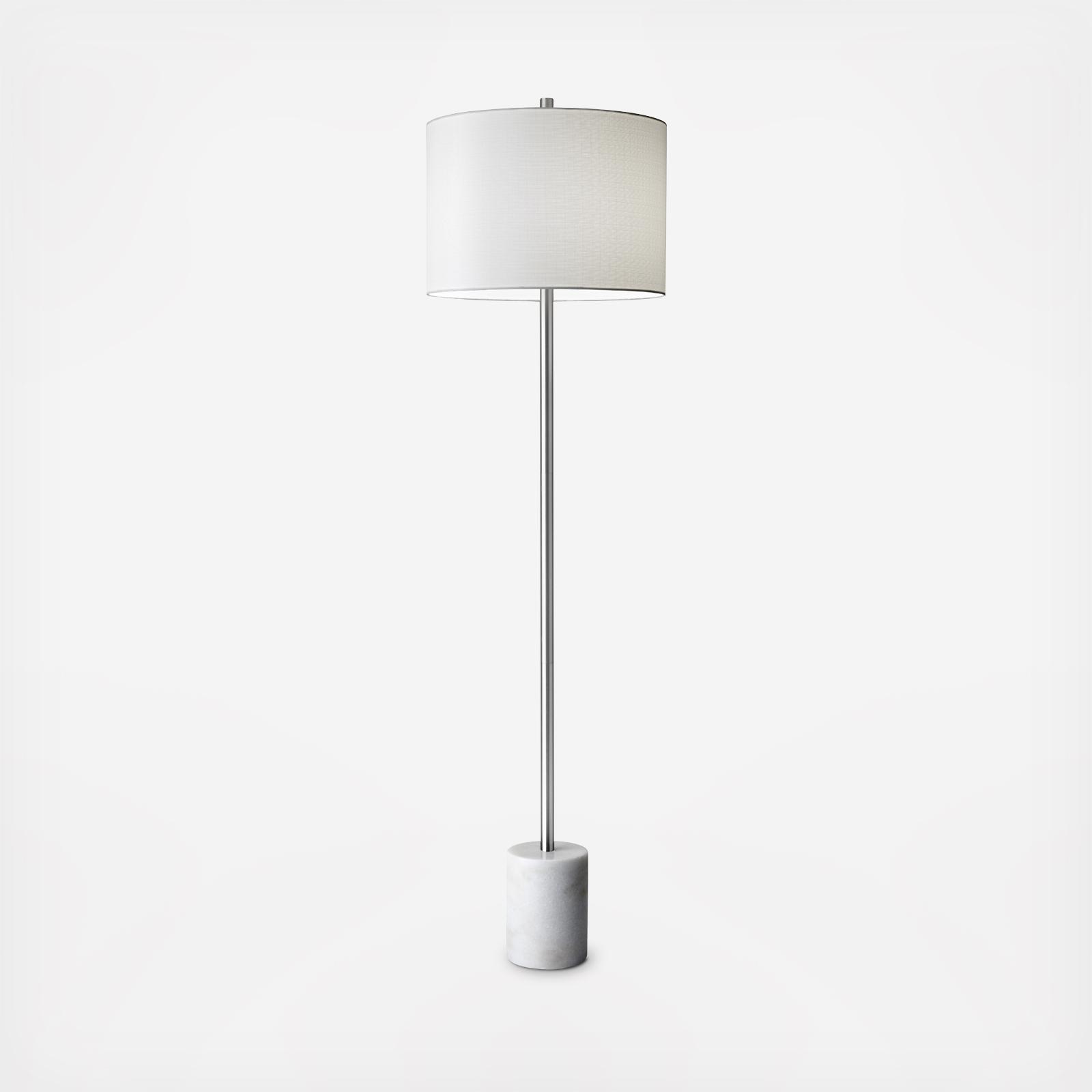 blythe floor lamp by adesso zola