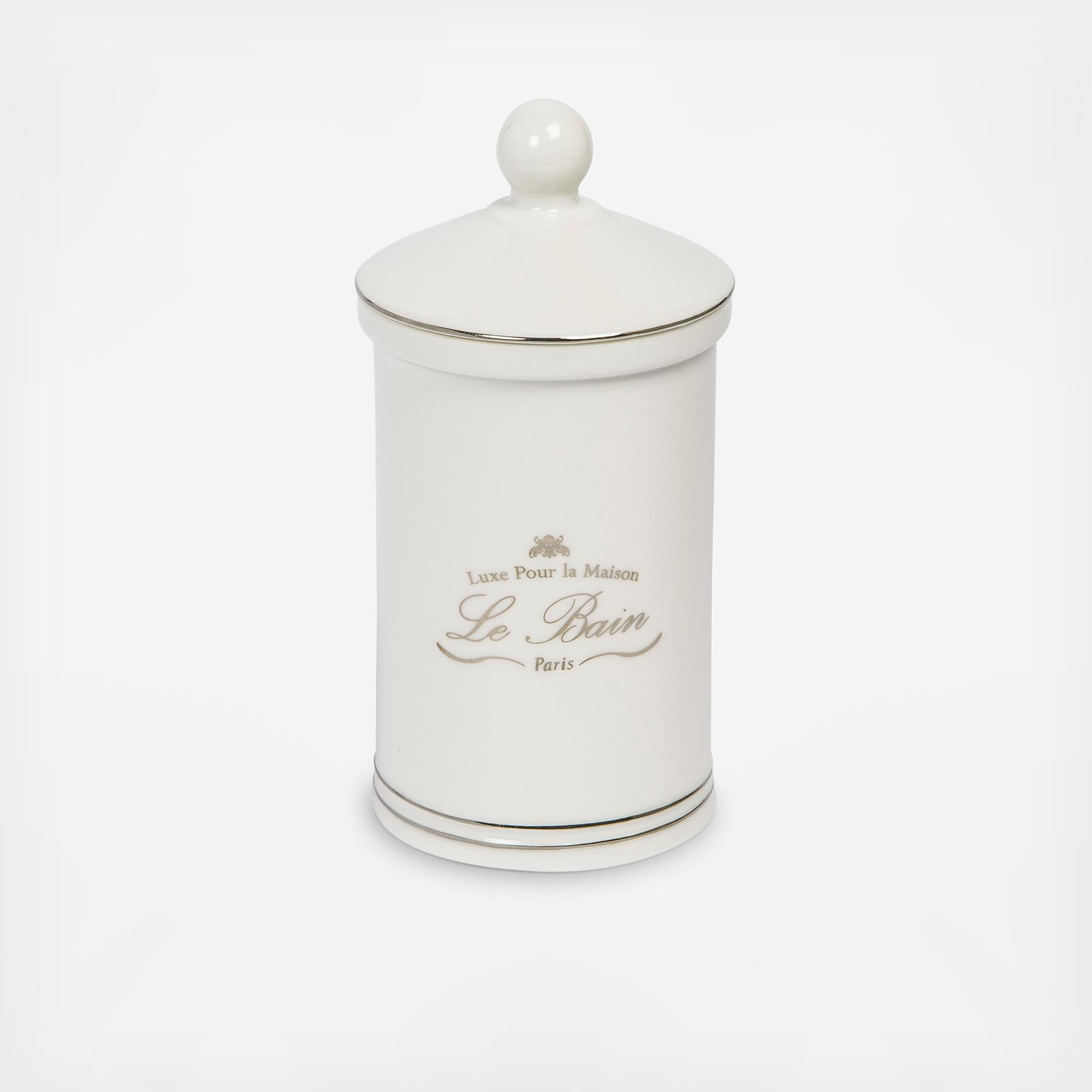 Groovy Le Bain Cotton Jar By Kassatex Wedding Planning Registry Gifts Home Interior And Landscaping Ologienasavecom