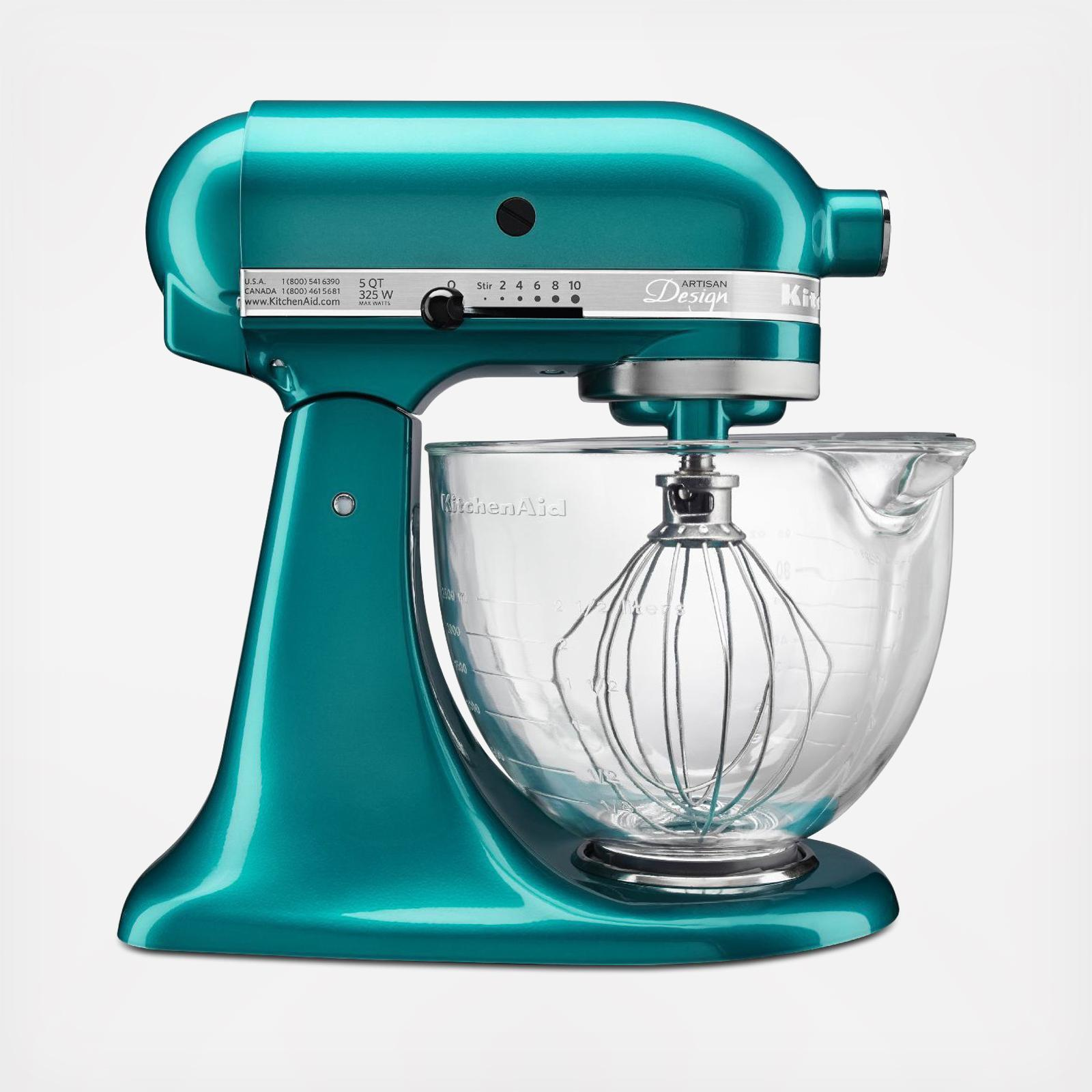 Artisan Design Series 5 Qt. Tilt-Head Stand Mixer with Glass Bowl | Zola
