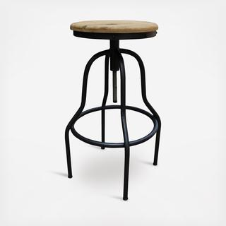 Natural Teak Wood End Table | Zola
