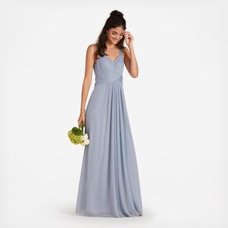 c1e5d5199e5 Simone Bridesmaid Dress - Dusty Blue