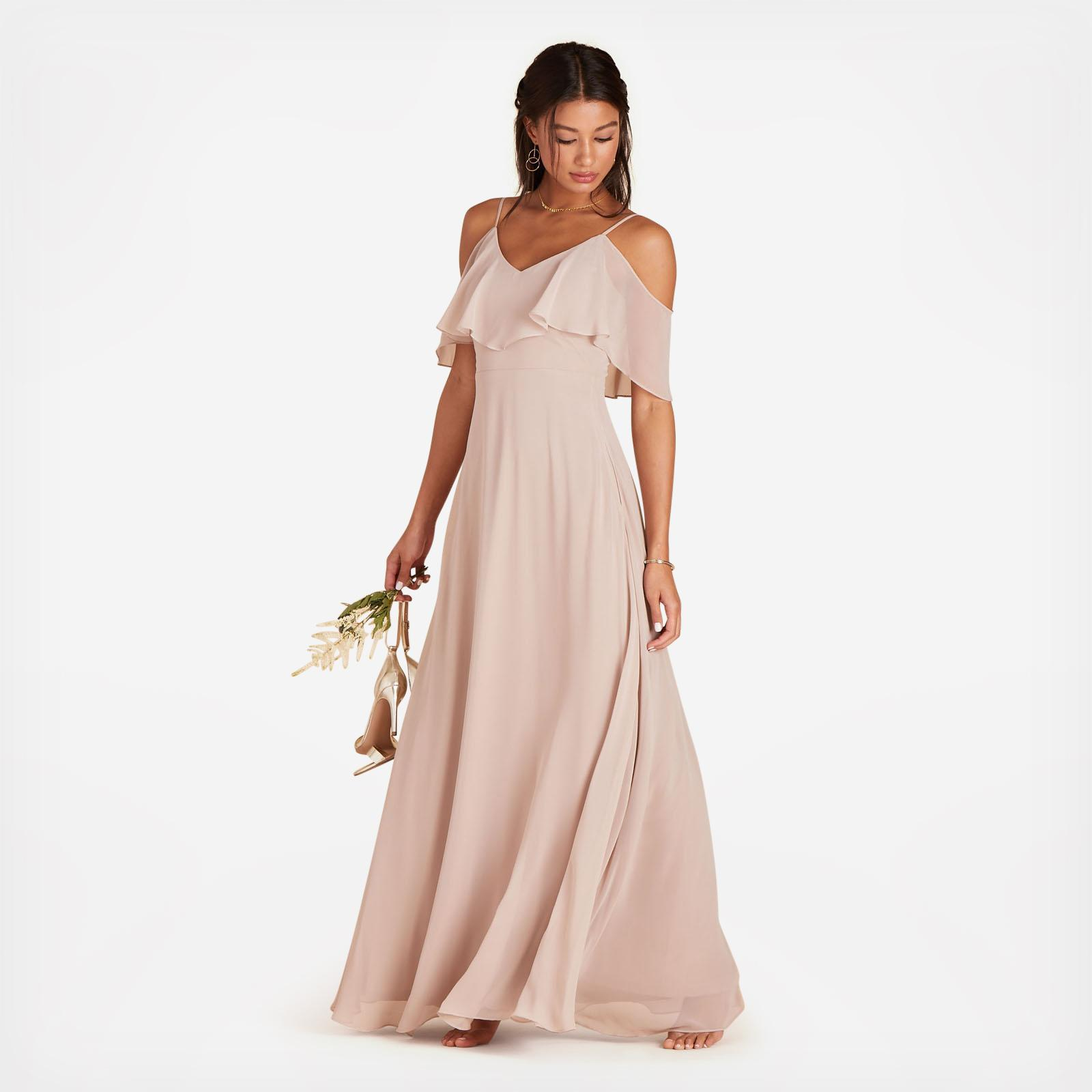 92d7107655c Jane Convertible Bridesmaid Dress - Blush Pink