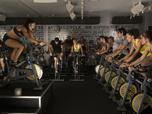 SoulCycle on Zola Wedding Registry