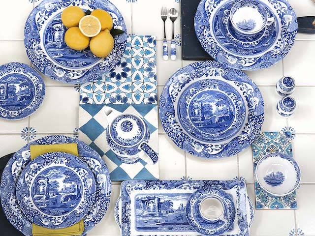 Spode on Zola Wedding Registry