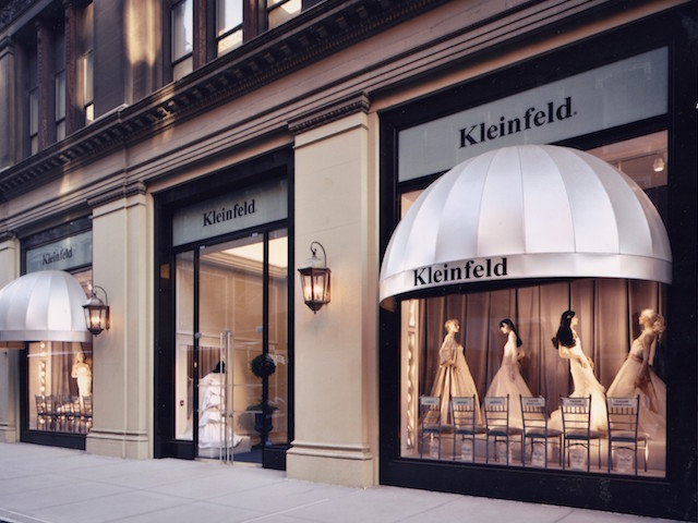 Kleinfeld on Zola Wedding Registry