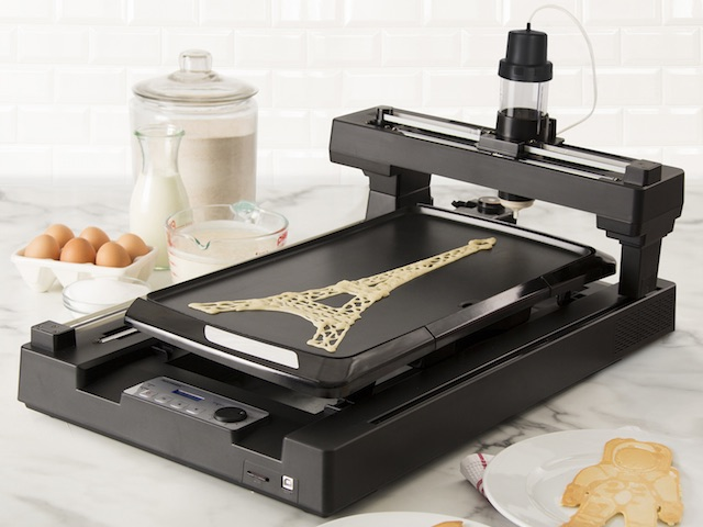 PancakeBot on Zola Wedding Registry