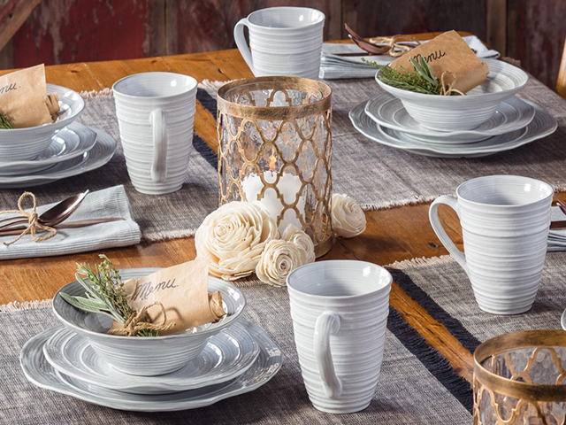 Gaia Tablescapes on Zola Wedding Registry