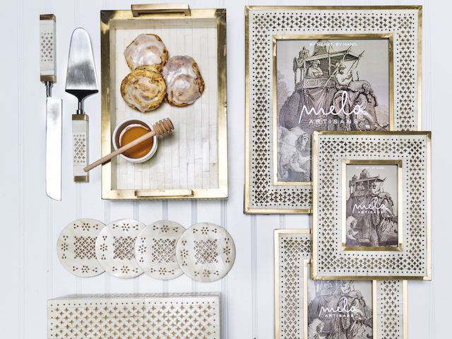 Mela Artisans on Zola Wedding Registry