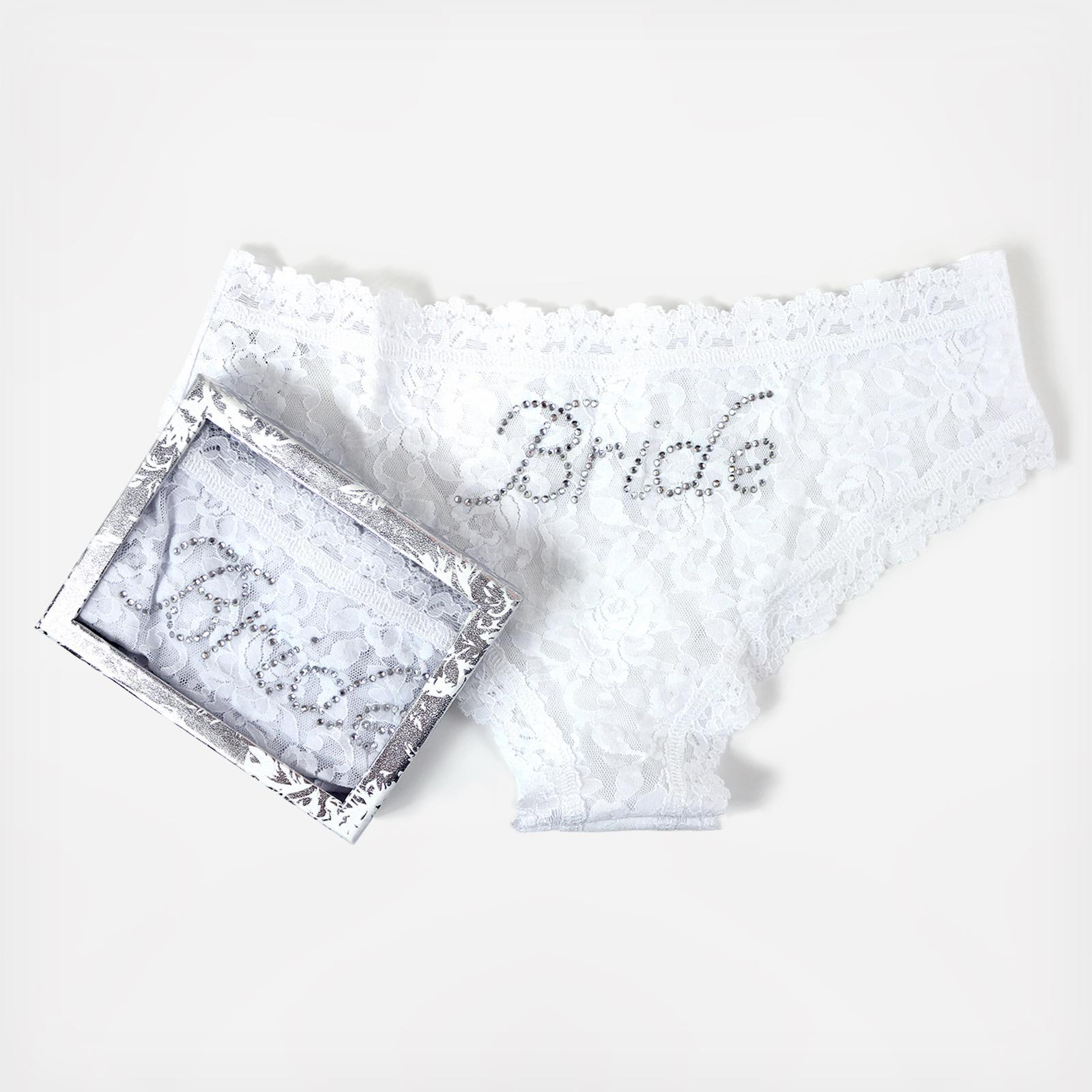 9991349eb Bride Signature Lace Cheeky Hipster With Gift Box