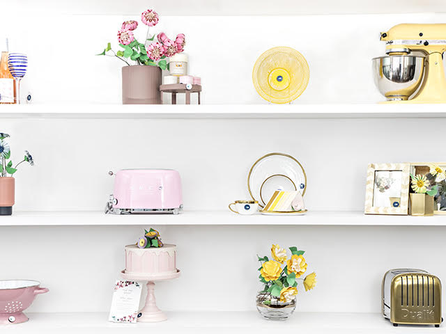 Popup Store Front Wall on Zola Wedding Registry