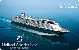 Holland America Cruises on Zola Wedding Registry