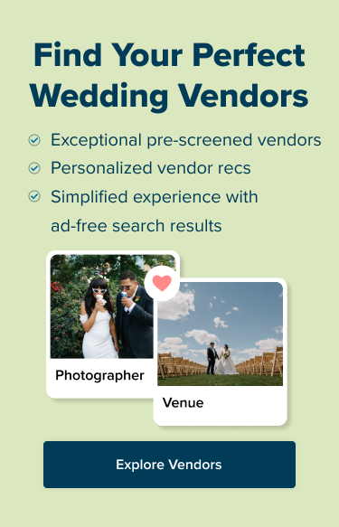 Find Your Wedding Vendors at Zola, All Pre-Screened for You