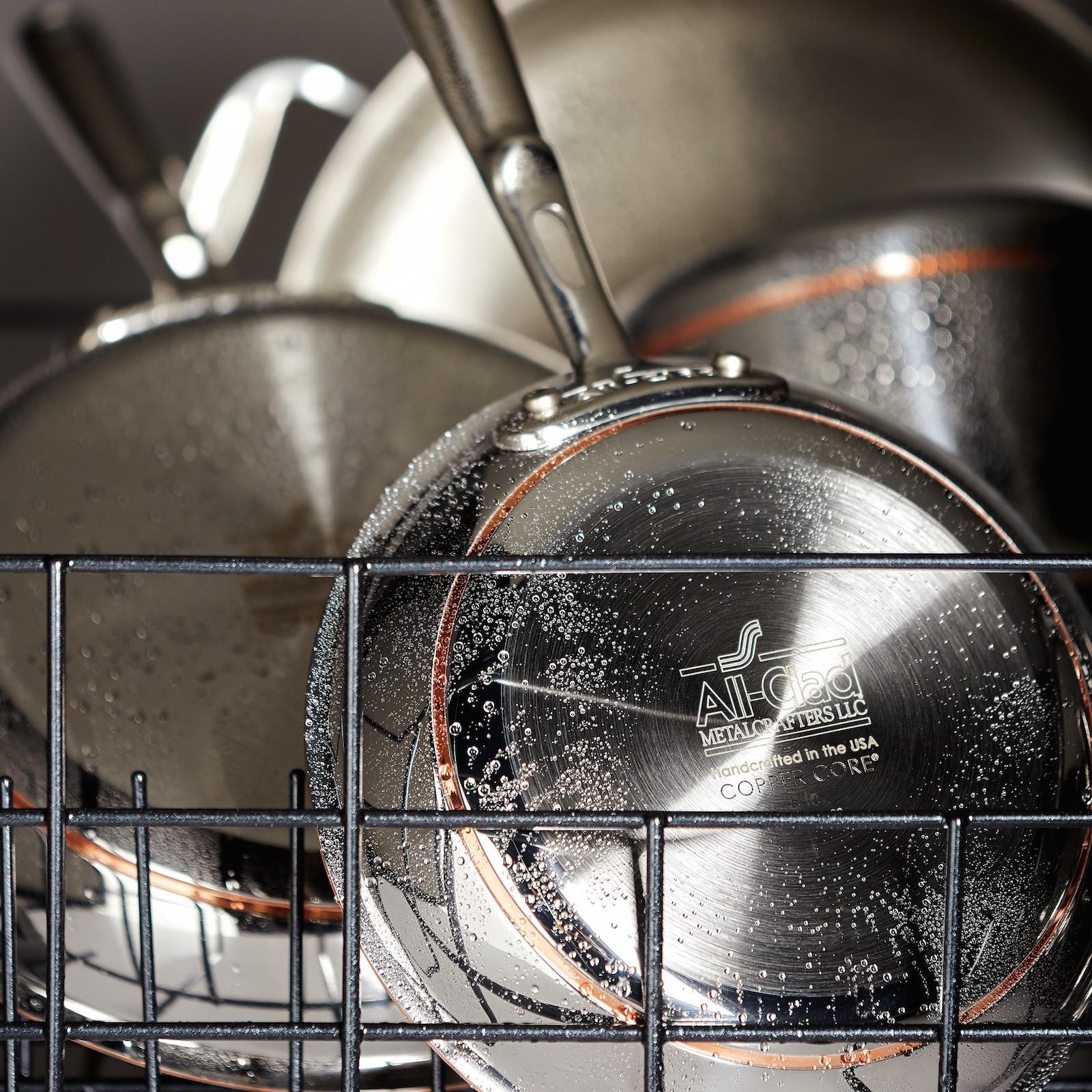 Copper Core 10Piece Cookware Set Zola