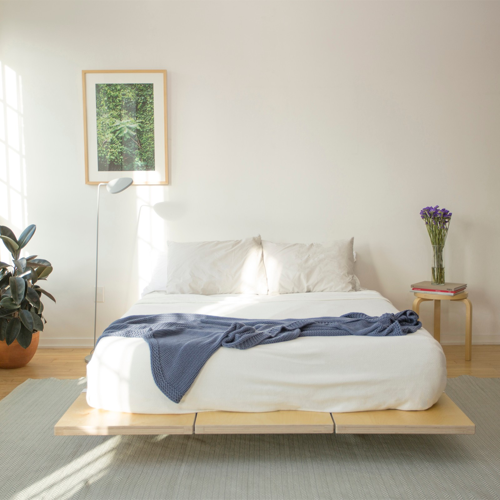 The Floyd Bed Frame   Zola