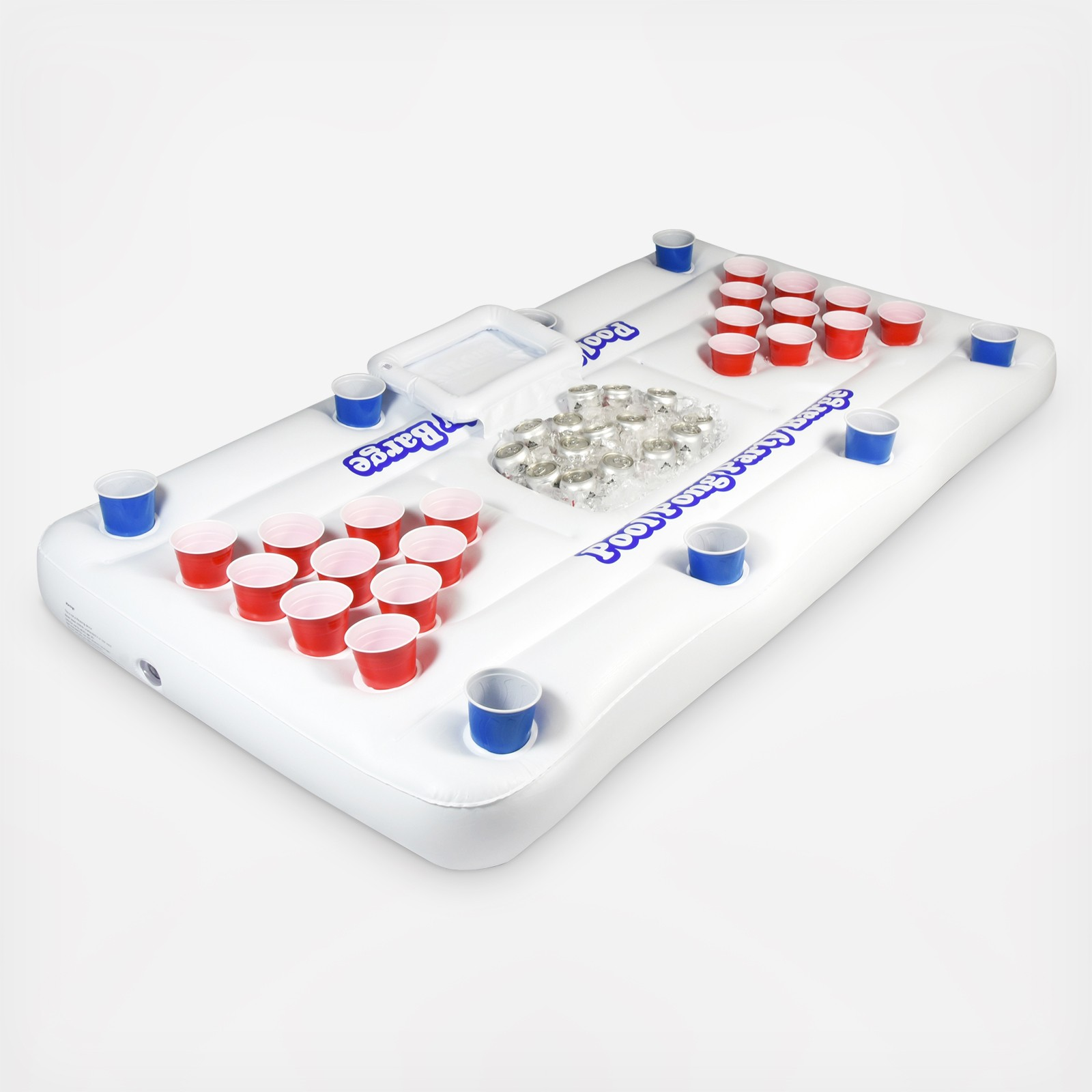 Fabulous Gopong Pool Party Barge Floating Beer Pong Table With Cooler By Gosports Wedding Planning Registry Gifts Download Free Architecture Designs Pushbritishbridgeorg