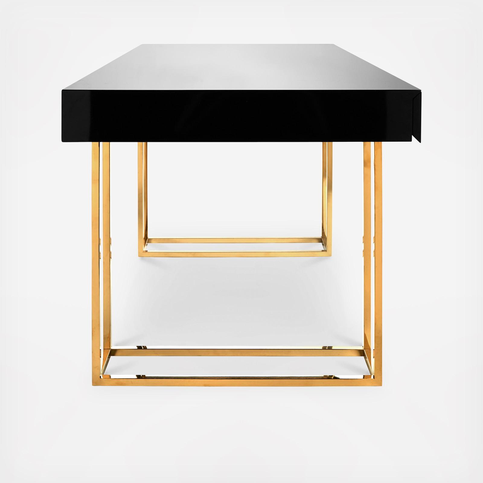 Merveilleux Caine Desk   Zola
