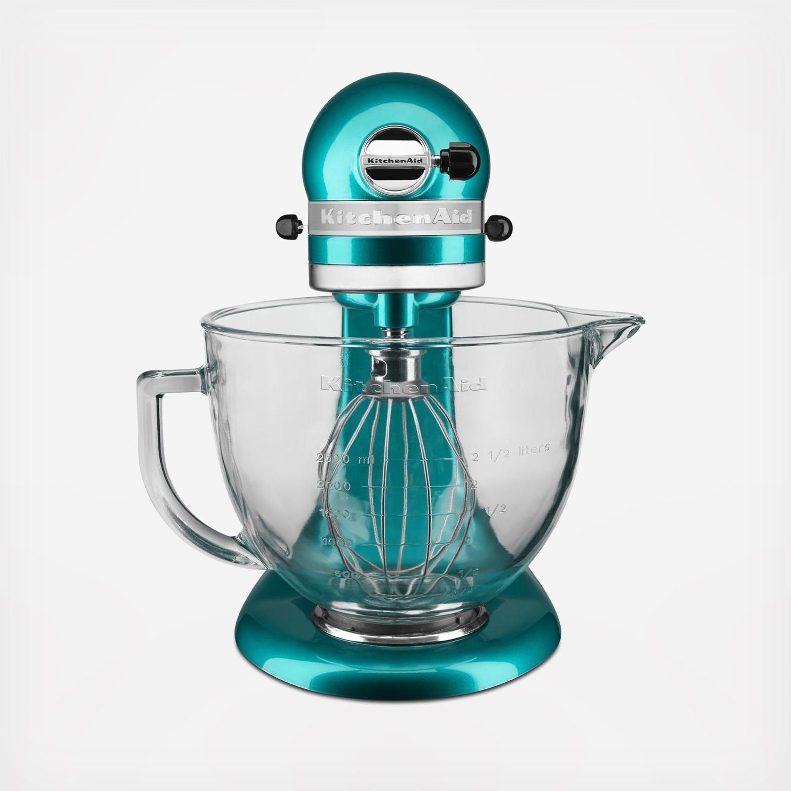 Artisan Design Series 5 Qt. Tilt-Head Stand Mixer with Glass Bowl | Zola