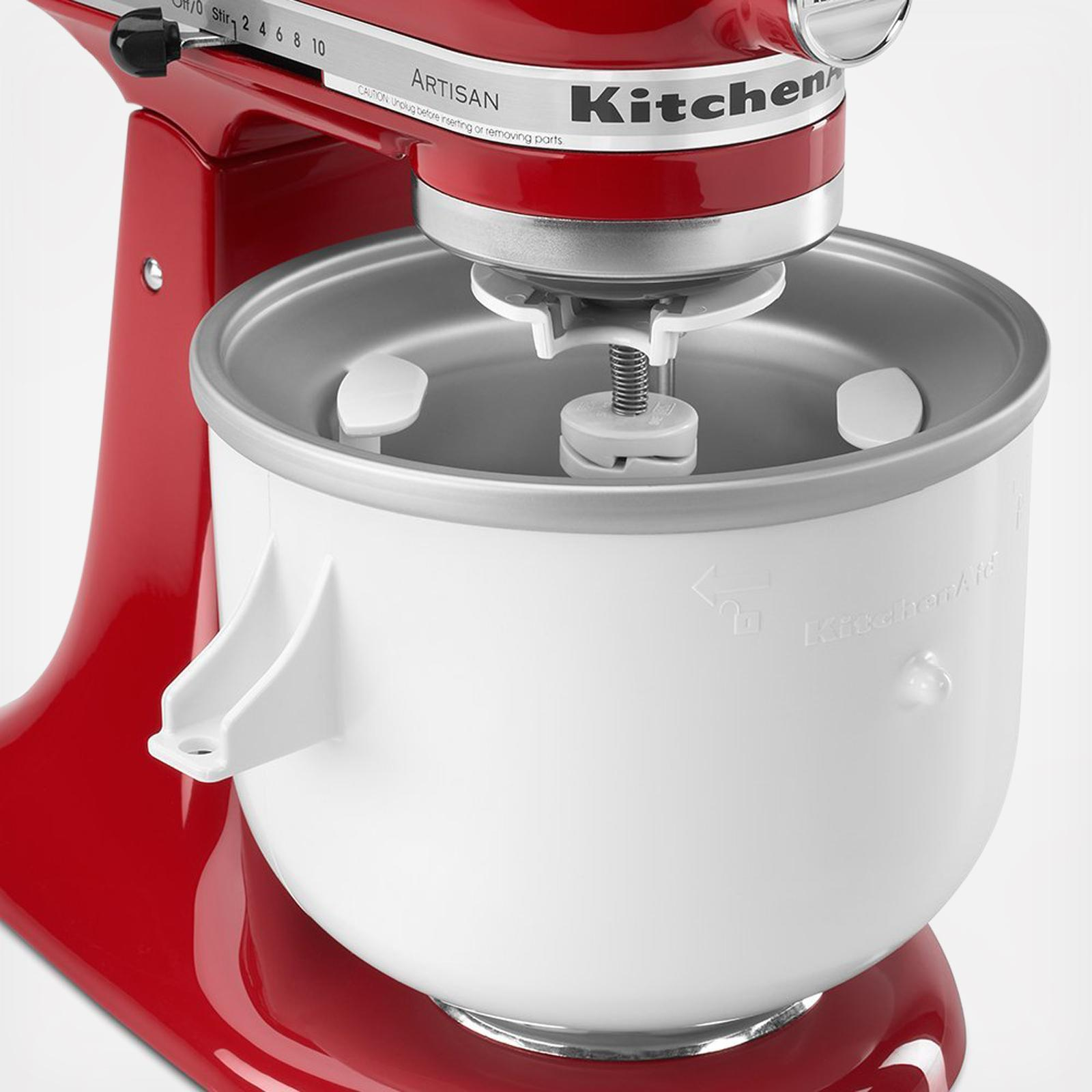 Ice Cream Stand Mixer Attachment | Zola on t-fal can opener, best can opener, toucan can opener, food network can opener, softworks can opener, side can opener, electric can opener, red can opener, henckels can opener, imperial can opener, fissler can opener, panasonic can opener, black and decker can opener, manual can opener, sharp can opener, le creuset can opener, disney can opener, rimless can opener, bodum can opener, conair can opener,