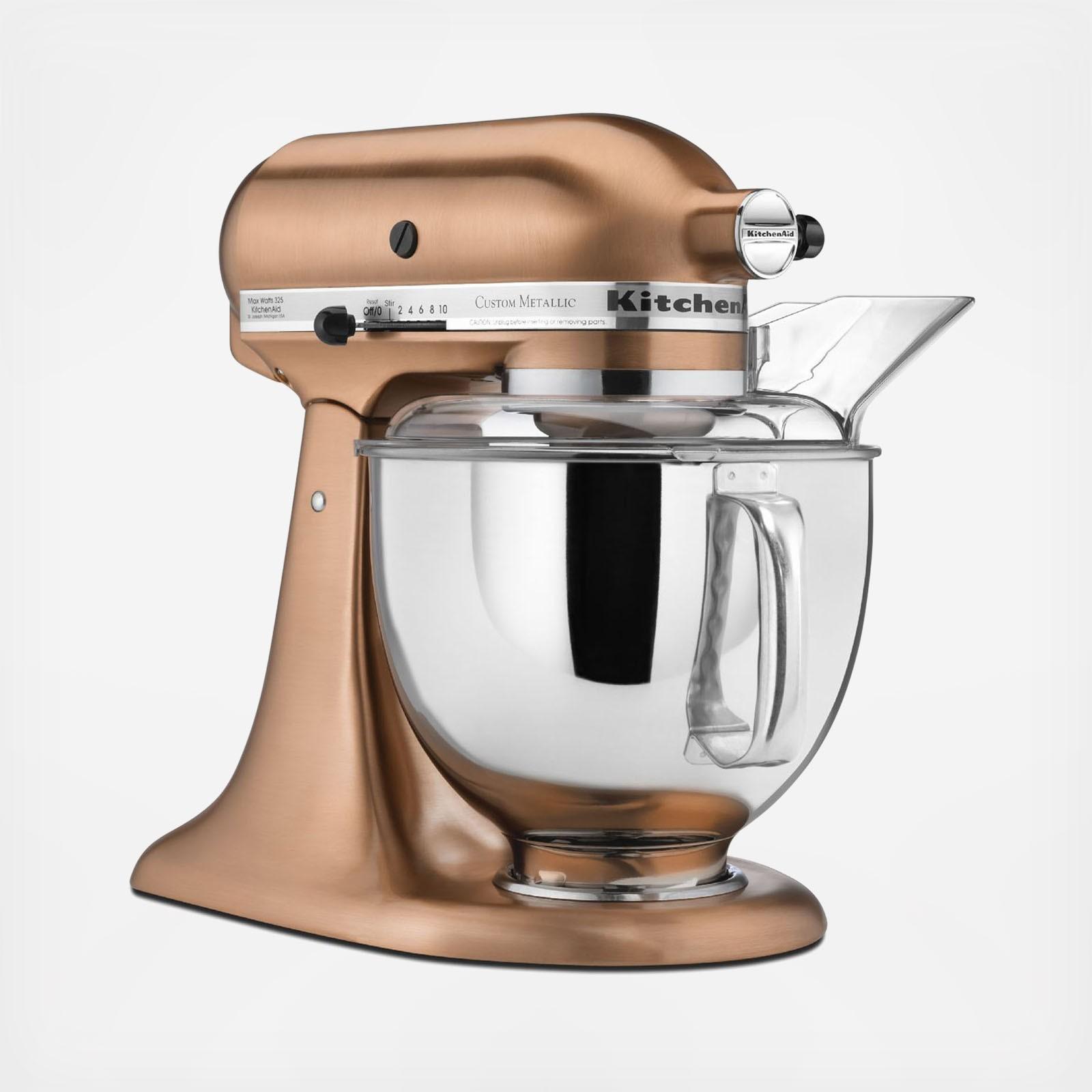 Custom Metallic Series 5 Qt. Tilt-Head Stand Mixer | Zola