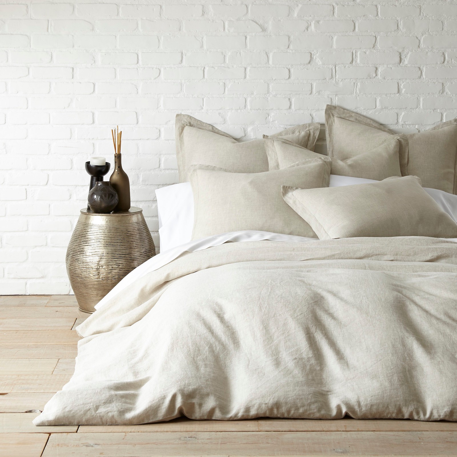 Washed Linen Duvet Cover | Zola : washed linen quilt cover - Adamdwight.com