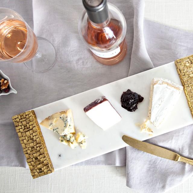59e32df128ffc Palm Cheese Board with Spreader
