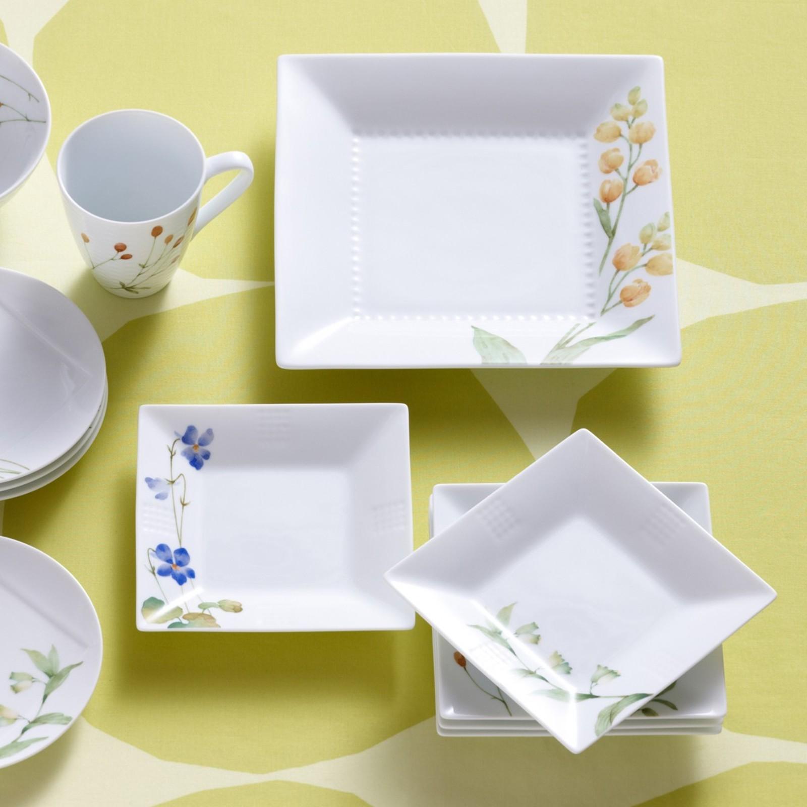 & Azuma No Michi Square Plate Set of 2 | Zola