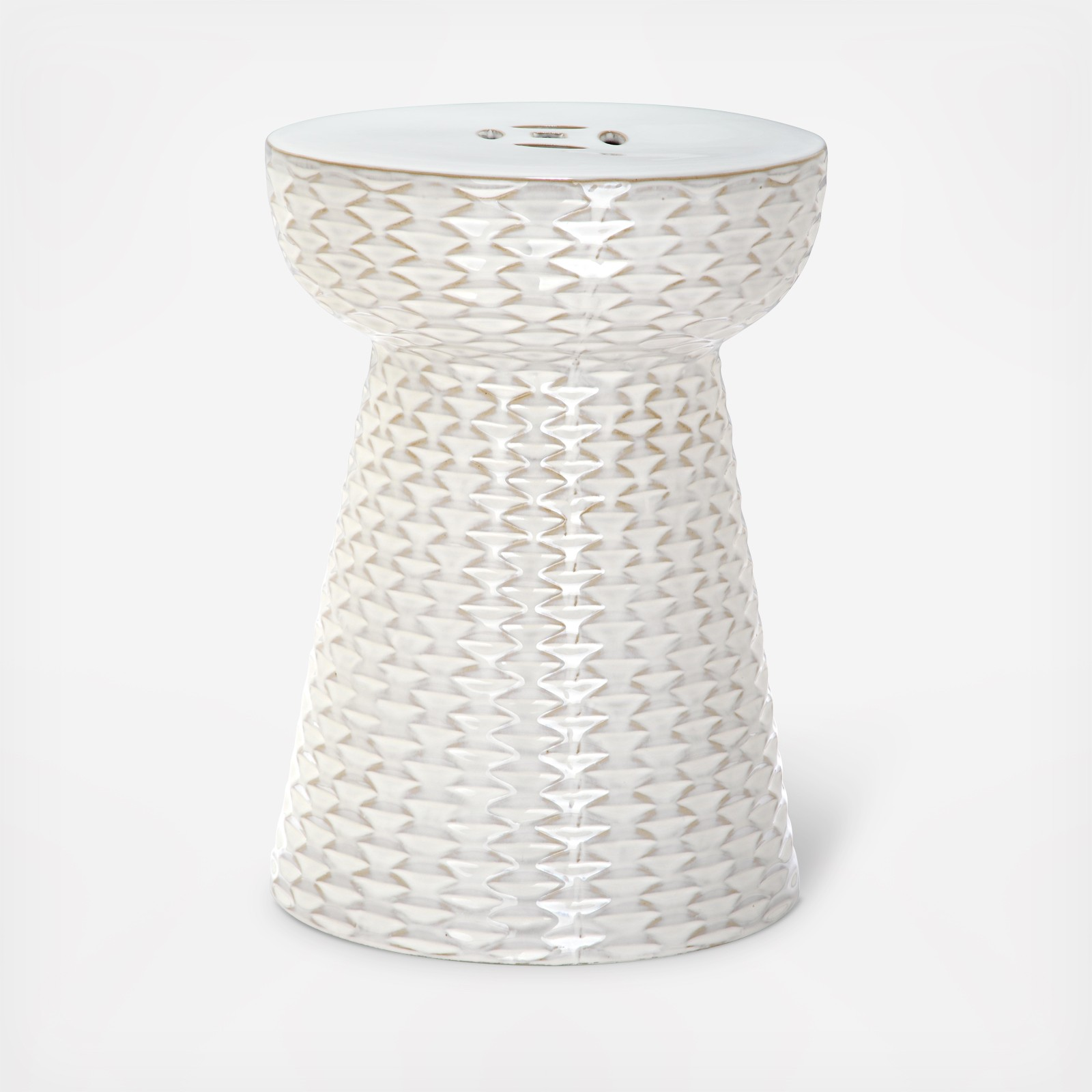 Basketweave Garden Stool By Safavieh Zola