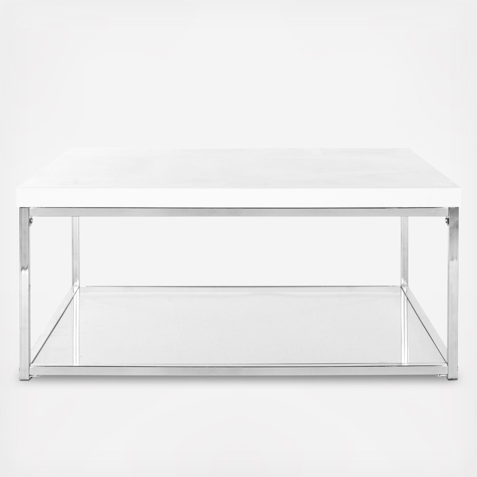 modern square coffee table | zola