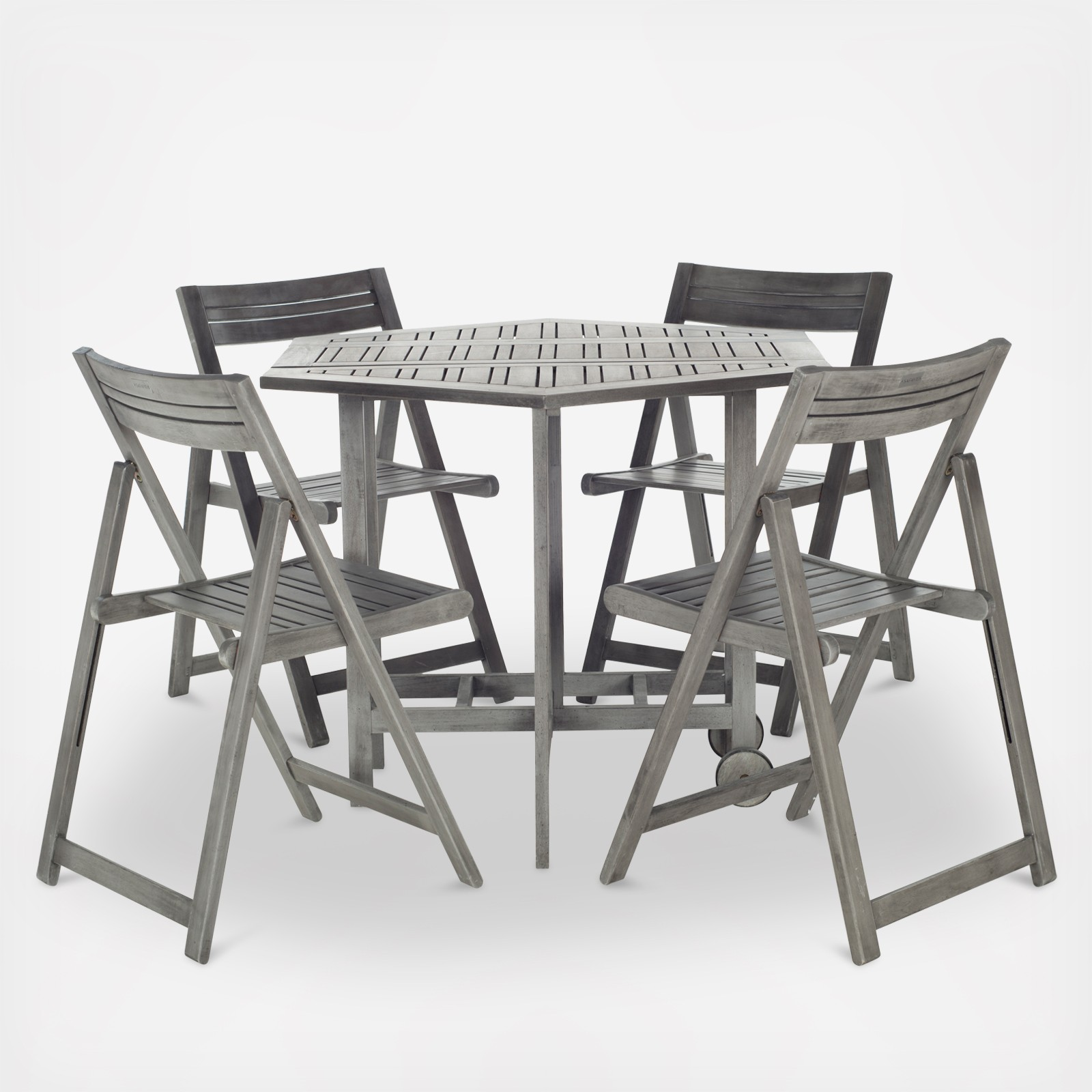 Outdoor Collapsible Dining Table Set | Wedding Planning, Registry ...