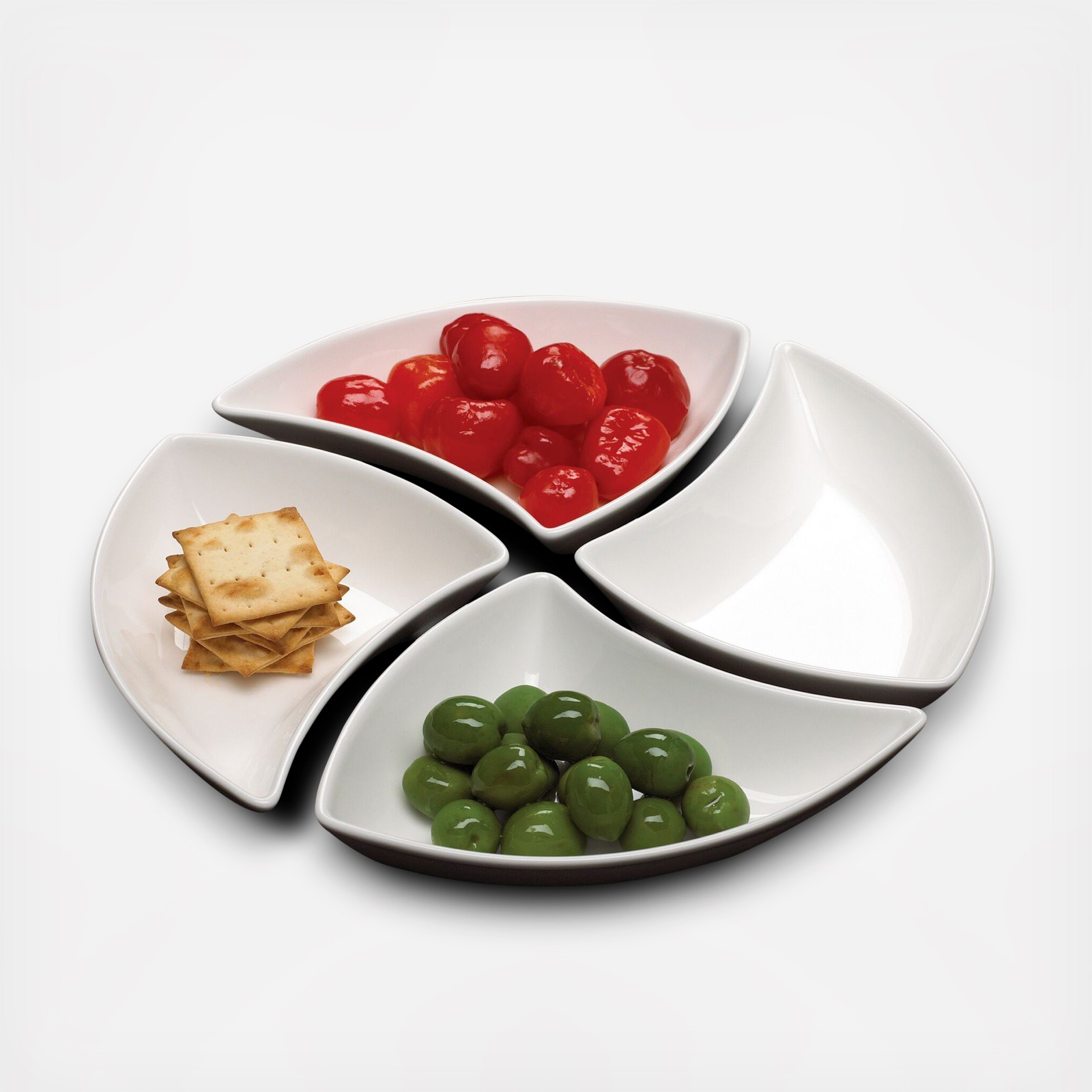 & New Wave Appetizer Plate Set of 4 | Zola