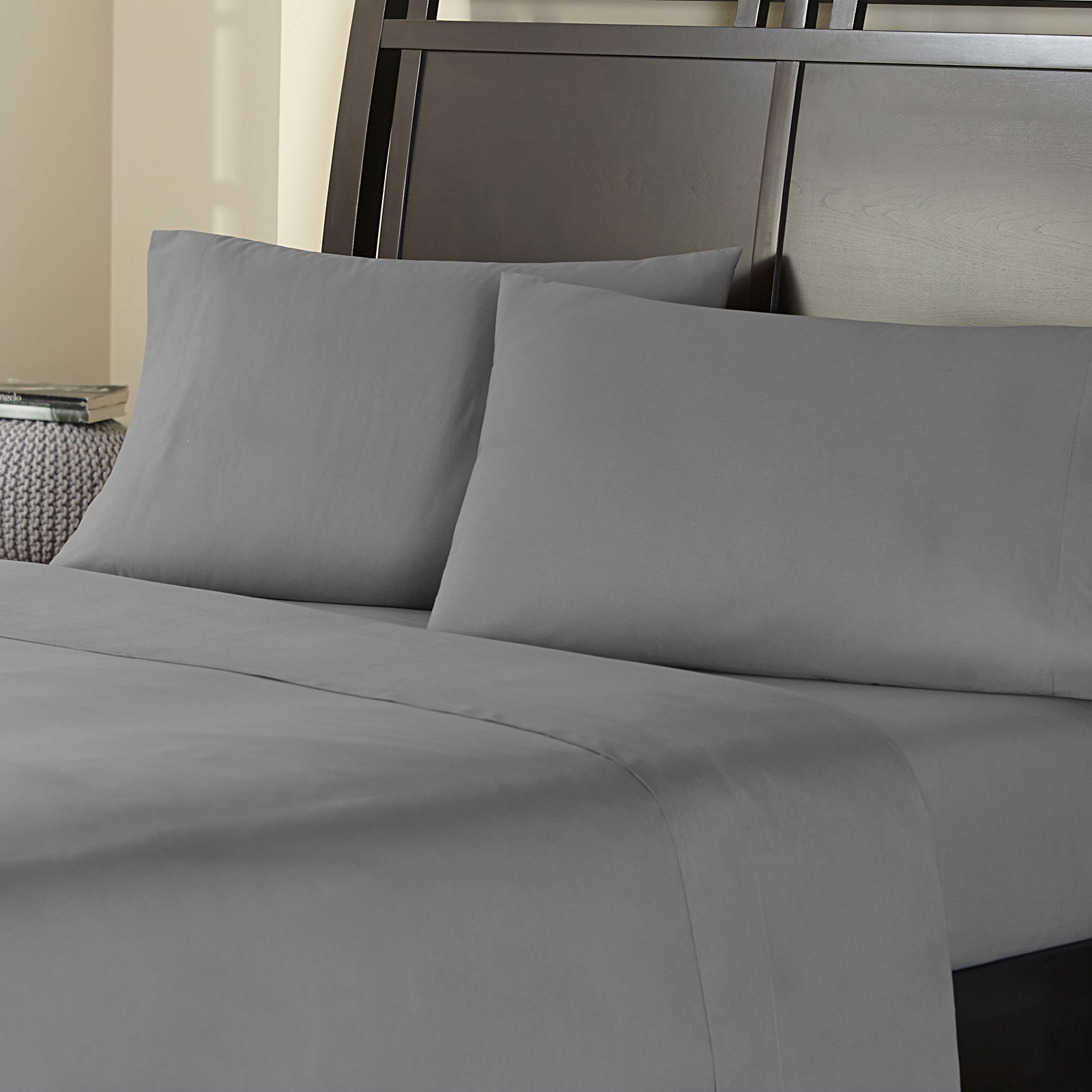 Amaze by welspun cotton sheet set bedding king navy blue - Amaze By Welspun Cotton Sheet Set Bedding King Navy Blue 2