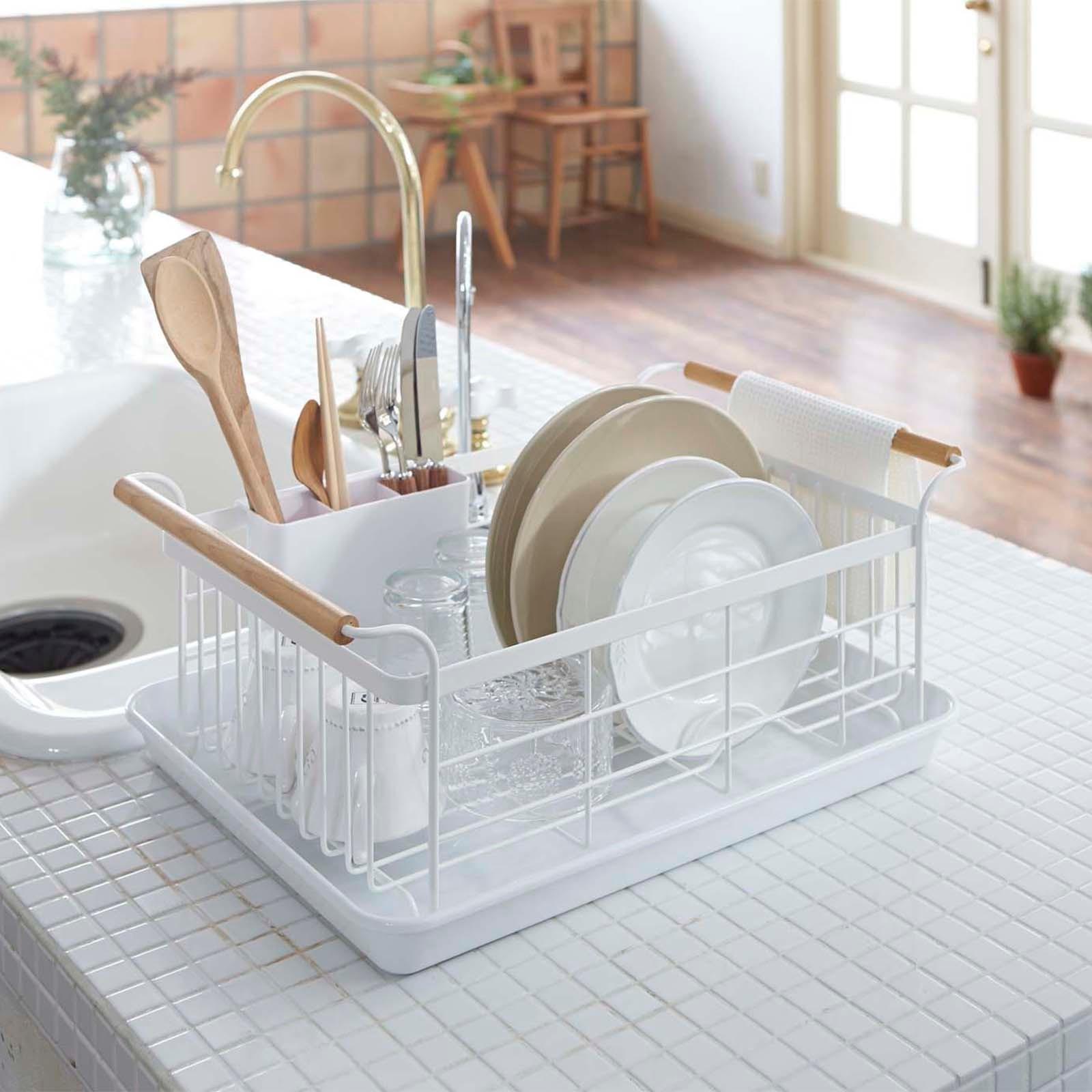 Space Saving Dish Rack Yamazaki Home Zola