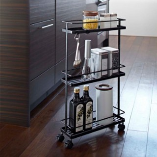 tower kitchen storage cart zola